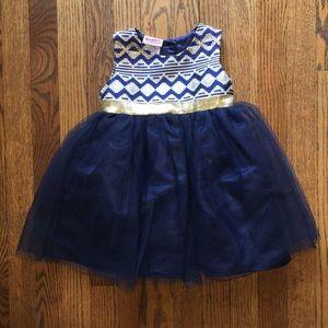5/$25 Blueberi Boulevard Toddler Dress 24M